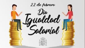 22de febrero dia de la igualdad salarial